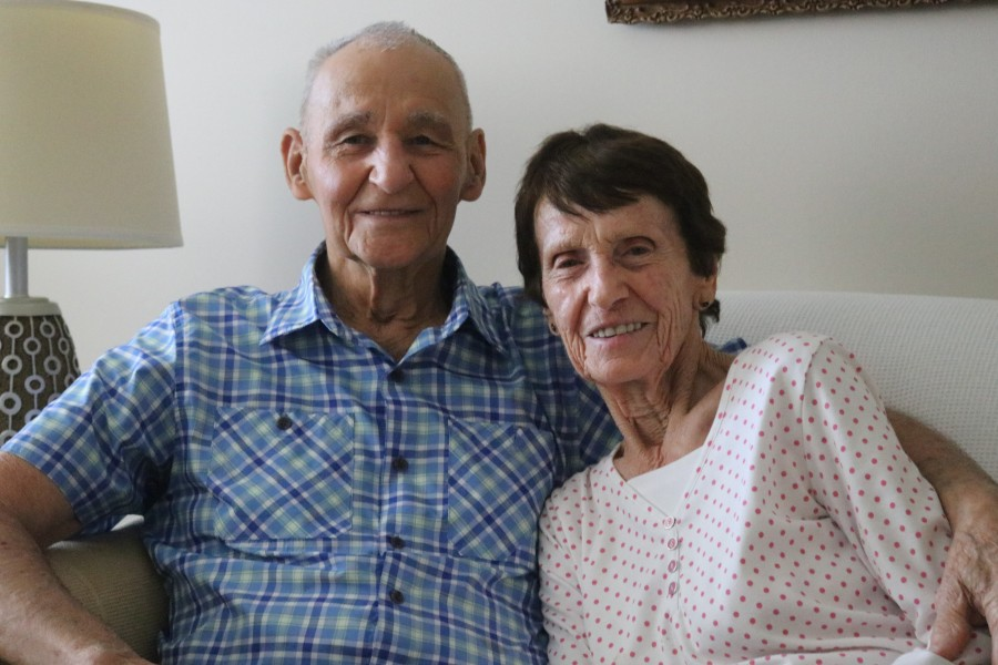 The couple got married in 1949. Seventy years later, they say their love is still strong. (Dariya Baiguzhiyeva/Niagara Now)